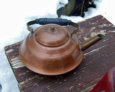 Vintage Copper Tea Kettle Coppercraft Guild by Raidersoflostloot, $11.00