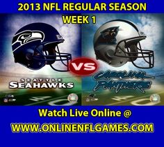 Seattle Seahawks vs Carolina Panthers Game Live Online