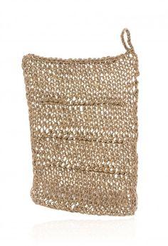 Linen Knit Dish Cloth