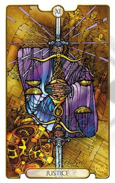 Revelations Tarot The Justice