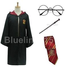 Kids #harry potter #costume children #harry potter gryffindor robe tie #glasses wa,  View more on the LINK: 	http://www.zeppy.io/product/gb/2/172257813102/