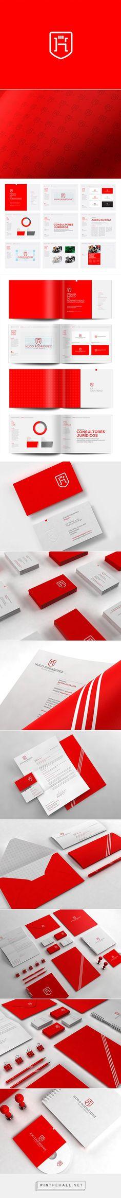 HR Hugo Rodríguez - Logo and Identity