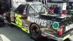 #35 MADVAPES/Call 811 Before You Dig Toyota getting ready to practice @ Daytona!!