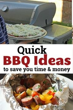 Love the taste of a grilled supper? You can have it in just minutes if you plan right and follow these quick BBQ ideas to save you time and money. Easy Weekday Meals, Make Ahead Meals, Easy Meals, Quick Supper Ideas, Cheap Bbq, Steak And Mushrooms, Easy Baking Recipes, Bbq Ideas, Cooking Ingredients