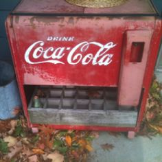 I remember reaching down with my feet in the air, almost falling in just for a cold coke...tt