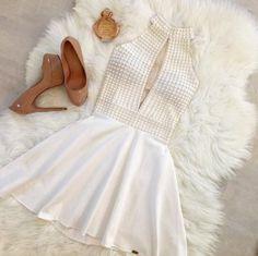 e93512635 VESTIDO BRANCO COM PÉROLAS K F8NAXKB4S - Livia Fashion - Atelier de  costura. Fazemos sob