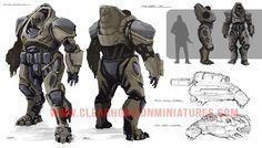 picture Apocalypse Games, Post Apocalypse, Sci Fi Armor, Sci Fi Weapons, Armor Concept, Concept Art, Sci Fi Fantasy, Character Concept, Game Design