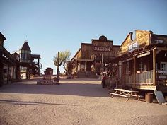 The Goldfield Ghost Town, Arizona