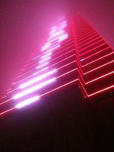 Atlantic City in the fog