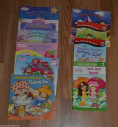 Strawberry Shortcake paperback book lot of 10, picture book, girls Learn to Read