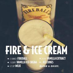 """This drink is anything but vanilla. #IgniteTheNite #NationalVanillaIceCreamDay #"""