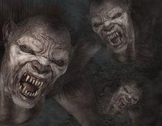 Sognare mostri cattivi; incubi di creature mostruose che fanno paura Lee Jeffries