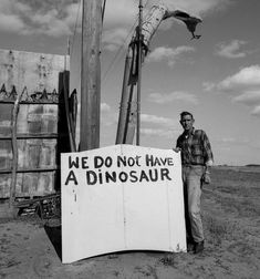 WE DO NOT HAVE A DINOSAUR  ..So please stop asking.  What will it take to make people understand!?