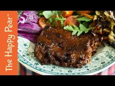 Vegan Steak | Wheat Meat | Seitan Steak | THE HAPPY PEAR - YouTube