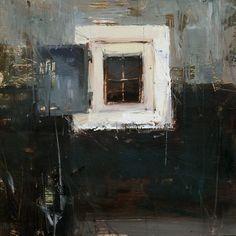 The Window by Tibor Nagy Oil ~ 8 x 8
