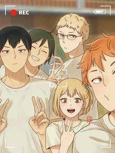 Anime Bebe, Me Anime, Fanarts Anime, Anime Characters, Anime Art, Haikyuu Funny, Haikyuu Fanart, Haikyuu Anime, Hinata