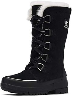 Shop a great selection of Sorel - Womens Tivoli Iv Tall Shell Boot. Find new offer and Similar products for Sorel - Womens Tivoli Iv Tall Shell Boot. Tall Winter Boots, Sorel Winter Boots, Tall Boots, Black Boots, Shoe Boots, Shoes, Best Womens Winter Boots, Sorel Boots Womens, Winter