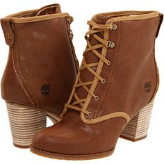 Earthkeepers by Timberland might be my favorite line of women's boots.  Dig the Old West style of these