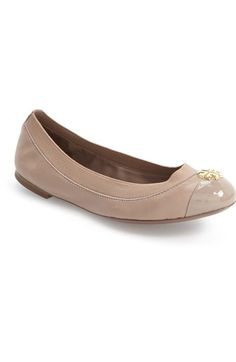 71e17695dd75b Tory Burch  Jolie  Ballet Flat (Women) available at  Nordstrom Smooth  Leather