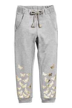 Cute sweatpants with butterfly print. Cute for girls.