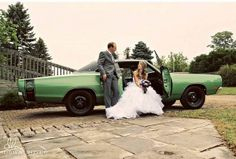 Mopar muscle is usually at the start of every good marriage!