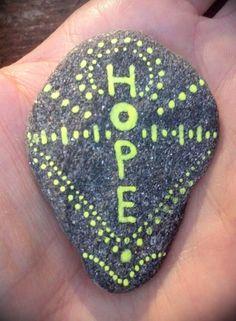 Russian River Rocks  One of a Kind  There is Hope  by KieshaJean, $10.00