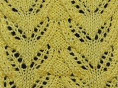 """This beautiful flying birds knitting pattern has it all - it resembles a tricky cable and the eyelets provide an """"airy"""" feeling. It looks puffy, cozy ..."""