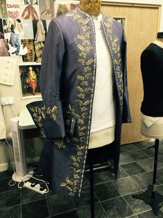 designed by Terry Dresbach for outlander season 2