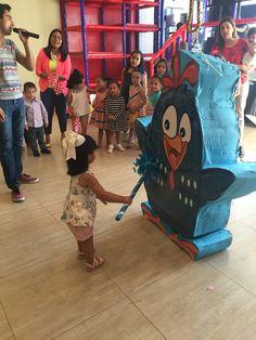 Piñata de gallina pintadita Más