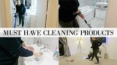 MUST HAVE CLEANING PRODUCTS