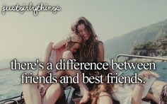 There's a Difference Between Friends & Best Friends -Just Girly Things Best Friends For Life, Best Friend Goals, Best Friends Forever, True Friends, Bestest Friend, Bff Quotes, Best Friend Quotes, Friendship Quotes, Funny Quotes