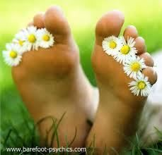 Walk barefoot outside whenever you can! Contact with the earth grounds you and releases negative energy :)