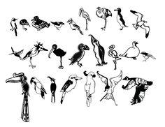 GWDA103 Digital Illustration For the Birds on Behance