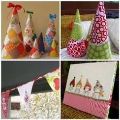 christmas crafts   Cute Christmas craft with a needle   Sewn Up by TeresaDownUnder