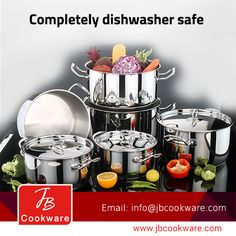 Cookware, Dishwasher, Stainless Steel, Elegant, Cooking, Products, Diy Kitchen Appliances, Classy, Kitchen