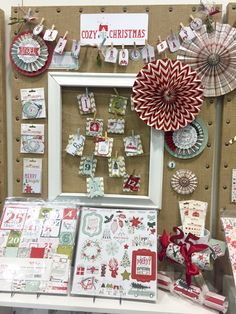 SPC Summer 2015 - My Minds Eye - Cozy Christmas Collection - Scrapbook.com