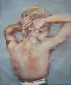"""""""Morning,"""" expressionist figurative painting by One to Watch artist Pauline Zenk. Learn more: http://magazine.saatchiart.com/articles/artnews/saatchi-art-news/one-to-watch/pauline-zenk"""