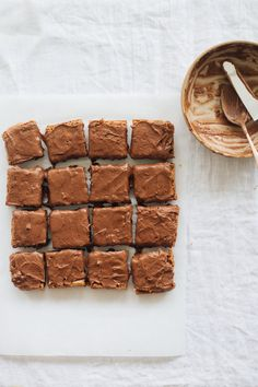 Earl Grey Frosted Brownies — Madeline Hall