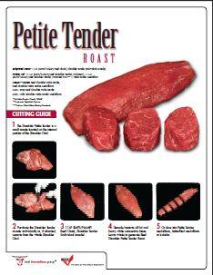Petite Tender PDF butchering guide