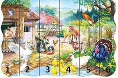 Farm Animals, Animals And Pets, Farm Unit, Math Games, Games For Kids, Cool Stuff, Painting, Games, Horse