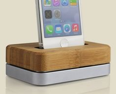 The Grove Dock Is The Beautiful Wooden iPhone Dock You Deserve | Cult of Mac