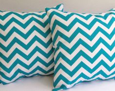 Popular items for turquoise chevron on Etsy
