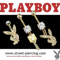 piercing nombril playboy