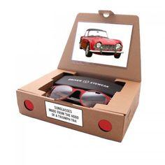 DRIVEN EYEWEAR, designer Daan de Haan brillen snijdt uit de carrosserie van je favoriete auto. Hij trok eerder al een Volvo dealer over de streep om uit een nieuwe auto 20 brillen te snijden. En nu wil hij 20 zonnebrillen maken. Crowdfunding platform voor design