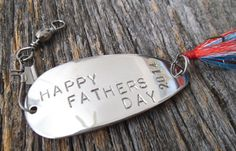 LAST MINUTE Father's Day Gift Happy Father's by CandTCustomLures, $30.00