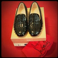 Authentic Christian Louboutin shoes Very comfortable and yet super elegant Christian Louboutin shoes. Comes with original box and dustbag. Excellent condition! 1,430 including tax. Made in Italy. Christian Louboutin  Shoes