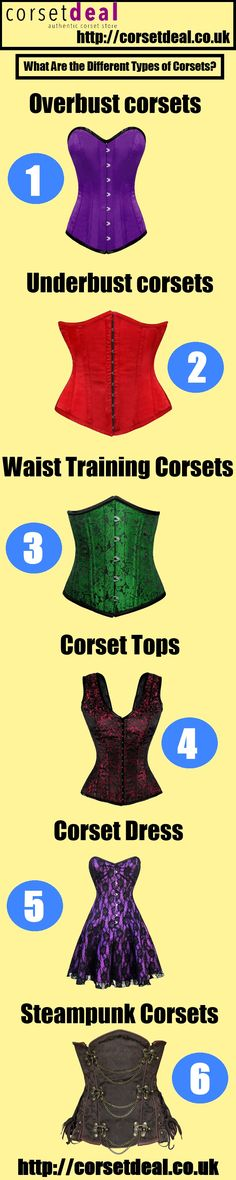 What Are the Different Types of Corsets