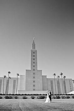 The LDS Bride: Los Angeles Temple