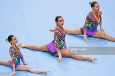 Karina Sandovich (BLR), Julia Ivonchyk (BLR), Veranika Nabokina (BLR), during 28th European Championships in Acrobatic Gymnastics on 21 October 2017 in Rzeszow, Poland.