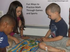Fun Ways to Practice Math Through Games and Sports